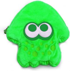 Case Plush Pouch Verde Splatoon 2 - Nintendo Switch