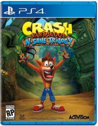 Crash Bandicoot N. Sane Trilogy - Seminovo - PS4