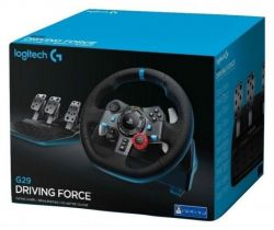 Volante G29 - Driving Force - Logitech - Seminovo - PS3 / PS4 / PC (S/ Caixa)