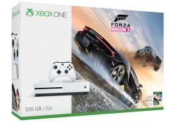 Console Xbox One S 4K 500GB + Jogo Forza Horizon 3 (Voucher)