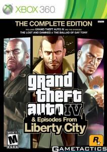Grand Theft Auto IV: The Complete Edition GTA 4 - Xbox 360
