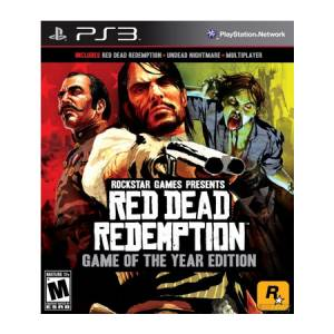 Red Dead Redemption: Game of The Year Edition - PS3