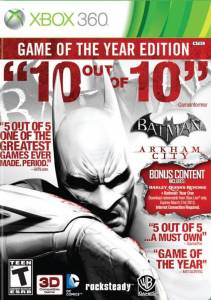Batman Arkham City: Game of The Year Edition - Xbox 360