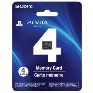 Memory Card 4GB - PSVITA
