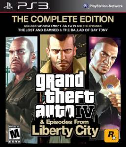 Grand Theft Auto IV: The Complete Edition GTA 4 - PS3