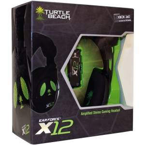 Headset c/ Fio Turtle Beach X12 - Xbox 360 / PC