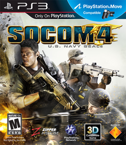 Socom 4: U.S Navy Seals - PS3