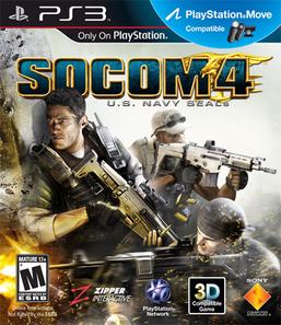 Socom 4: U.S Navy Seals - PS3