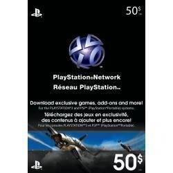 Cartão PSN - Playstation Network Card - $50