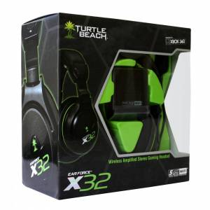 Headset Wireless Ear Force Turtle Beach X32 - Xbox 360