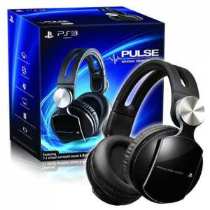 Headset Wireless Estereo 7.1 Pulse Elite Edition - PS3 / PS4 / PC