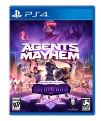 Agents of Mayhem - Seminovo - PS4
