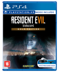 Resident Evil 7 - Gold Edition - Seminovo - PS4