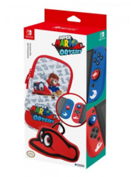 Carrying Case Kit Mario Odyssey - Nintendo Switch