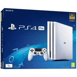 Console Sony Playstation 4 PRO 4K 1TB Glacier White - PS4