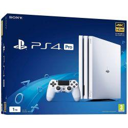 Console Sony Playstation 4 PRO 4K 1TB Glacier White - PS4