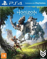 Horizon: Zero Dawn - PS4 (Case de Papel)