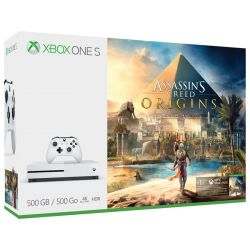 Console Xbox One S 4K 500GB + Jogo Assassin
