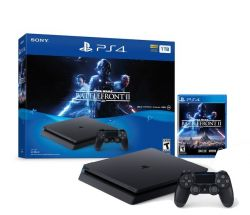 Console Playstation 4 Slim 1TB + Jogo Star Wars Battlefront II - PS4