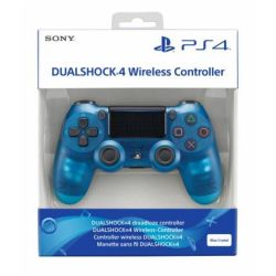 Controle DualShock 4 Blue Crystal Edition - PS4