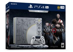 Console Sony Playstation 4 PRO God of War 4 Limited Edition 4K HDR 1TB - PS4