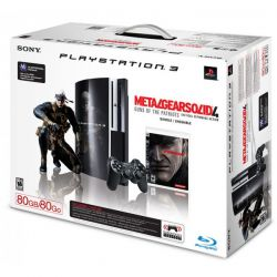 Console PS3 FAT Arcade 80 GB - Edição Metal Gear Solid 4 - Seminovo