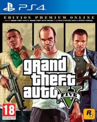 Grand Theft Auto V - GTA 5 - Premium Online Edition - PS4