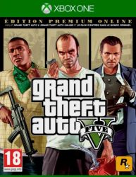 Grand Theft Auto V - GTA 5 - Premium Online Edition - Xbox One