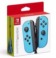 Controle Joy-Con L/R Azul - Nintendo Switch