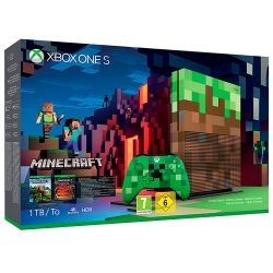 Console Xbox One S Minecraft Edition 4K 1TB