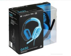 Headset Logitech G430 7.1 Surround - PC / PS4