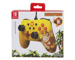 Nintendo Switch Wired Controller Donkey Kong Ed.