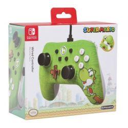 Controle com fio POWERA - Yoshi Edt. - Nintendo Switch