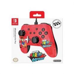 Controle com fio POWERA - Mario Edt. - Nintendo Switch