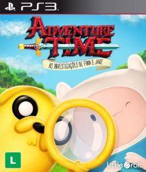 Adventure Time: As Investigações de Finn e Jake - Seminovo - PS3