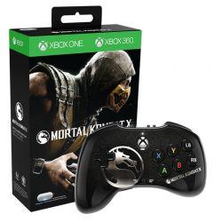 Controle Fight Pad Mortal Kombat X - Seminovo - Xbox 360/ Xbox One