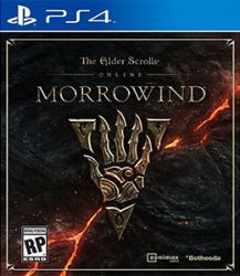 The Elder Scrolls Online: Morrowind - Seminovo - PS4