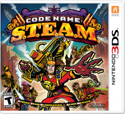 Code Name S.T.E.A.M. - Strike Team Eliminating the Alien Menace - Seminovo - Nintendo 3DS