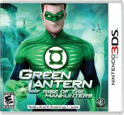 Green Lantern: Rise of the Manhunters - Seminovo - Nintendo 3DS