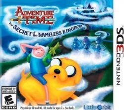Adventure Time: The Secret of the Nameless Kingdom - Seminovo - Nintendo 3DS