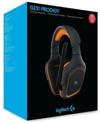 Headset Gamer Logitech G231 Prodigy - Compatível com Playstation 4, Xbox One, Nintendo Switch, PC e Mobile