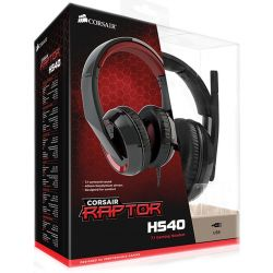 Headset Gaming Corsair Raptor HS40 7.1 USB