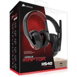 Headset Gaming Corsair Raptor HS40 7.1 USB - PS4 / PC