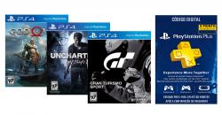 Kit 3 Jogos: Gran Turismo: Sport + God of War 4 + Uncharted 4: A Thief