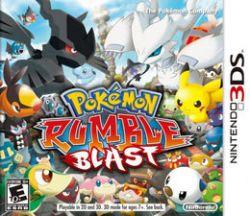 Pokémon Rumble Blast -  Seminovo - Nintendo 3DS