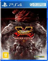 Street Fighter V: Arcade Edition - Seminovo - PS4