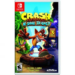Crash Bandicoot N. Sane Trilogy - Seminovo - Nintendo Switch