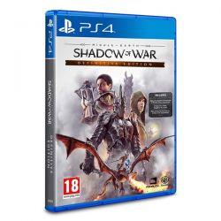 Terra Média: Sombras da Guerra - Edição Definitiva - PS4