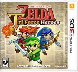 The Legend of Zelda: TriForce Heroes - Seminovo - 3DS (S/ Case)