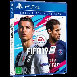 FIFA 19 - Edição dos Campeões - Totalmente em Português - PS4